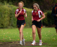Young House Girls Running
