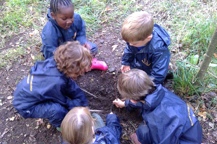 Year 1 Forest School Group