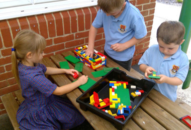 Year 1 Building Lego Houses