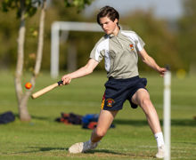 U5th Rounders Sutton Boy Batting