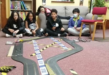 PS Boarders Scalextric