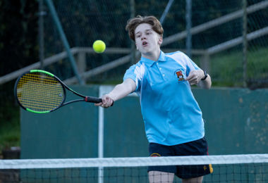 Ace Efforts in Upper Fifth House Tennis