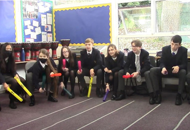 4th Form Get to Grips with Wak-a-tubes