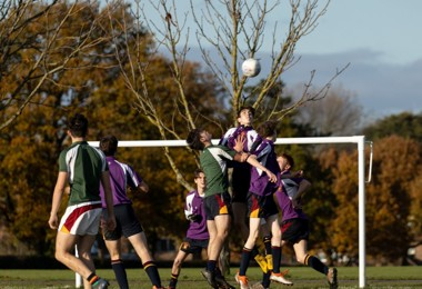 Lower Sixth House Football Kicks Off