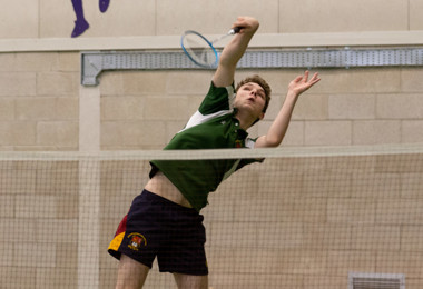 Upper Sixth Smash House Badminton Competition