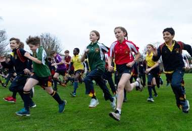Prep School Pupils Sprint to the Finish