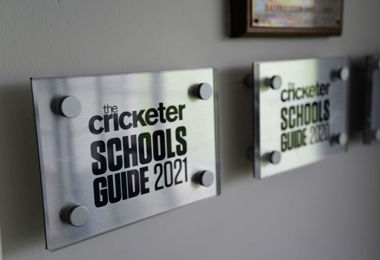 Cricketer 2021 plaque