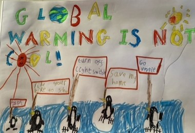 Year One Pupils Tackle Climate Change
