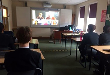 Upper Sixth Politics Students Learn with Lords