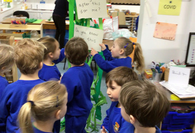 Reception and the Beanstalk!