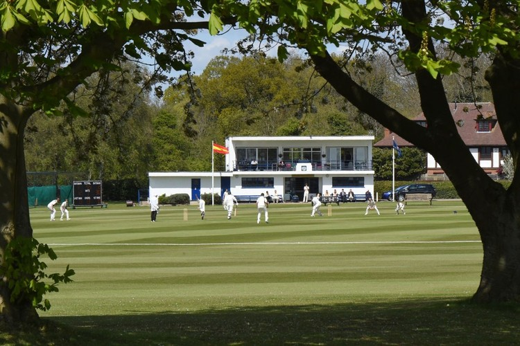 Cricket at the Doggart Pavillion