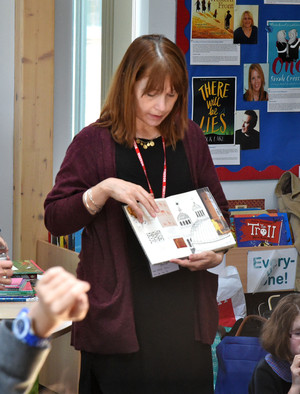 Author Talk to Pupils in Prep School