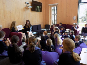 Reading to Prep School Pupils in Alliott