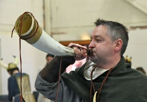 Viking Day Blowing Horn