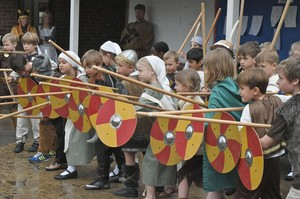 Viking Day with Shields