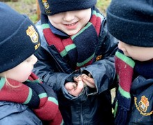 Forest School in the Pre-Prep