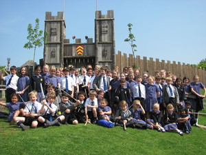 Prep School Trip to Mountfitchet Castle
