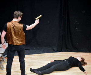 Upper Sixth Form Students Drama