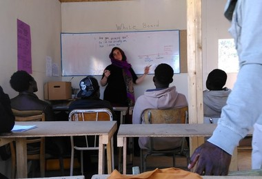 Education for Sudanese and Syrian Refugees