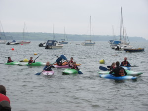 Prep School Trip Kayaking