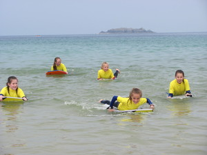 Prep School Cornwall Trip Body Surfing