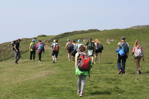 Prep School Cornwall Trip Hiking