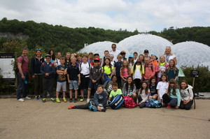 Prep School Cornwall Trip Visit to Eden Project
