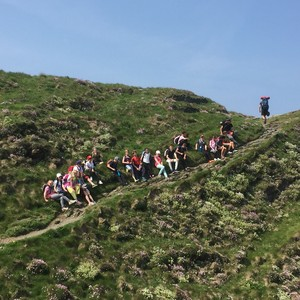 Prep School Trip to Cornwall Hiking