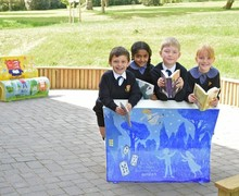 Library Picture Book Benches