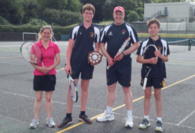 Staff and Pupils Doubles Tennis Tournament