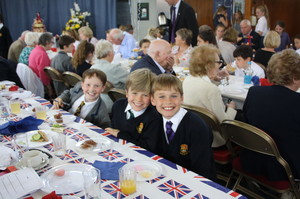 Prep School Pupils Grandparents Day