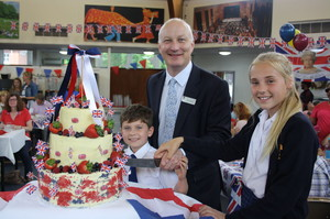 Prep School Head and Pupils Grandparents Day