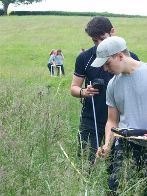 Lower Sixth Biology trip fieldwork