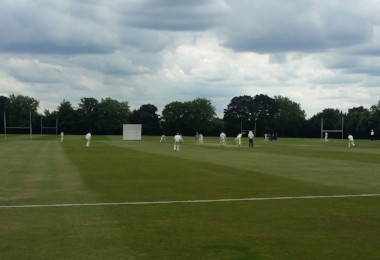 Hertfordshire and Suffolk U17 Cricket Teams Play at the College