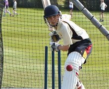 Front on batting