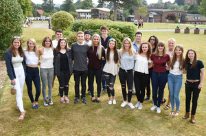 Bishops stortford college students with 3 or more a grades or higher