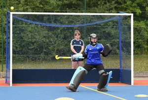 Team GB goalkeeper at independent school pre-season training