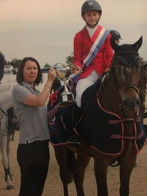 National Show Jumping Win for Emelia