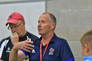 Andy Halliday England Men's Indoor Hockey Coach