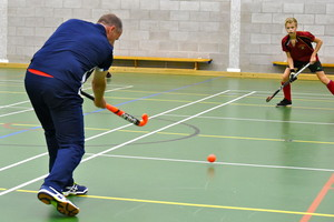 One-on-one coaching with England hockey coach