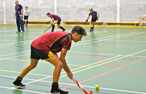 Indoor Hockey Coaching U16 boys