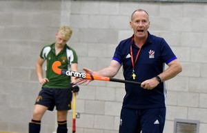 England men's coach at Bishop's Stortford College