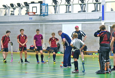 Boys' indoor hockey teams through to East Finals