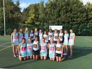 U18 netball v dubai touring side