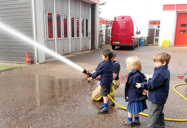 Year 1's Fun Visit to the Fire Station