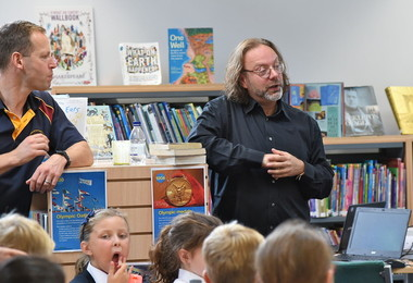 """There is a Story for Everyone"", SF Said Author Visits Prep School"