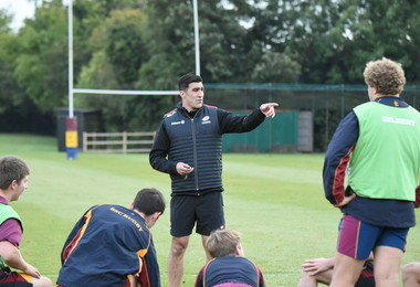 Saracens International 1st XV Coaching Session