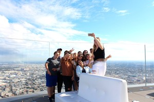 Media trip to LA and S Francisco 2016 group selfie