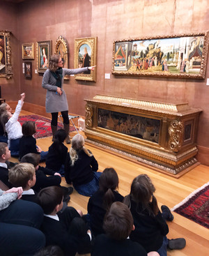 Lower Shell visit to Fitzwilliam Museum Nov 16