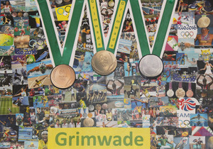 Prep School Library Olympic Challenge Nov 16 Grimwade poster